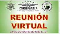 23 DE OCTUBRE DE 2020 E:.V:. – REUNIÓN VIRTUAL
