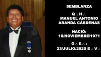 SEMBLANZA – Q:.H:. MANUEL ANTONIO ARANDA CÁRDENAS