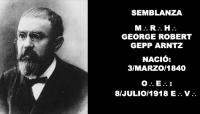 SEMBLANZA – M:.R:.H:. GEORGE ROBERT GEPP ARNTZ – MIEMBRO HONORARIO